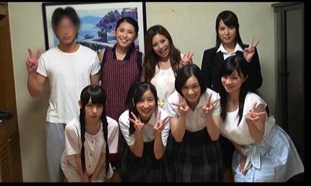 【個人撮影】ハーレム・6人の姉妹と母がエロすぎます!