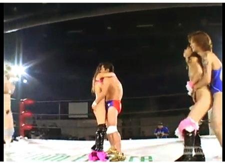 【盗撮動画】リョナ・なんと卑猥な変態すぎる女子プロレス!