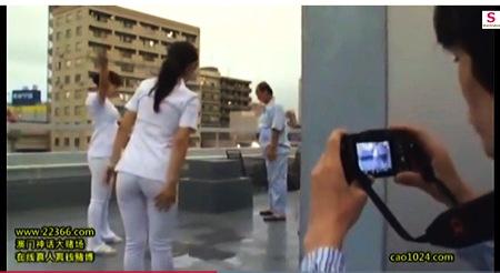 【盗撮動画】病院・デカパイ看護婦を患者が隠し撮り!パンチラからセックスまで。