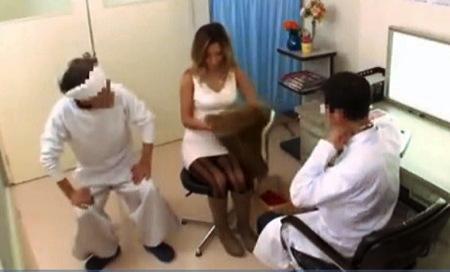 【盗撮動画】病院・AIKA。妊娠検査なのに媚薬をオマンコに塗られた黒ギャル人妻!