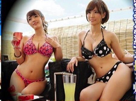 【盗撮動画】素人ナンパ・海の家の相席居酒屋でビキニギャルたちを素人ナンパ!酔っ払ってエロすぎます!