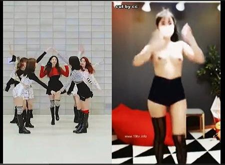 【個人撮影】ダンス・韓国のガールズグループの踊りを裸でカバーしています!
