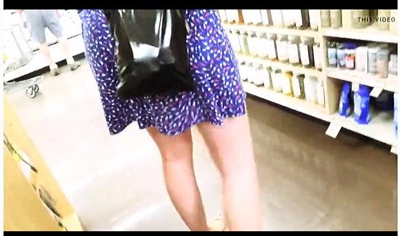 【パンチラ】『水玉模様のアメリカ娘』他【動画】