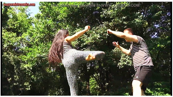 【M格闘】『ミラ女王様はアーバンプレデター-あなたの人生を終わらせる人体と顔面の蹴り』他【動画】