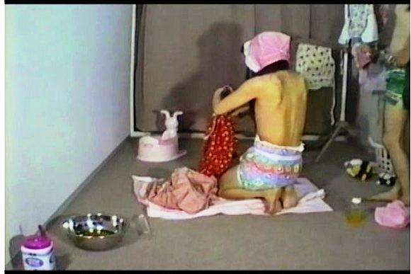ABDL+オムツ+赤ちゃんプレイ