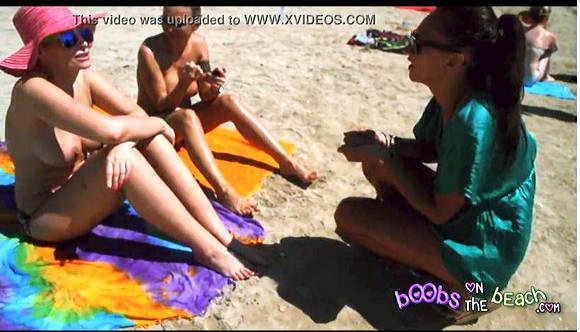 Boobs On The Beach+水着+露出マニア