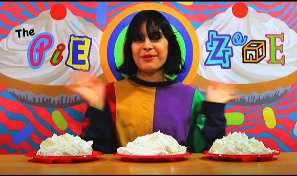 The Pie Zone+パイ投げ+Wet & Messy