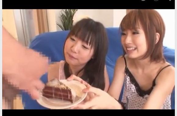 [盗撮]ちょっとケーキにザーメンをかけてくださらない?お安い御用だ!フェチ巨乳動画です!