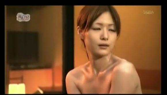 【風呂】しっぽりと気持ちの良い若奥さん!有名旅館の風呂は楽しいわね!