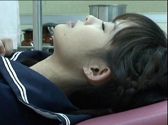 【病院】制服娘のお姉さんが診察に来たら、セクハラばかりされて気持ちがいいわ!