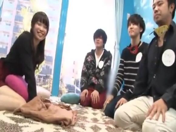 【マジックミラー号】今井すみかさんはこの三人とゲームをしてファックの相手を決めます!