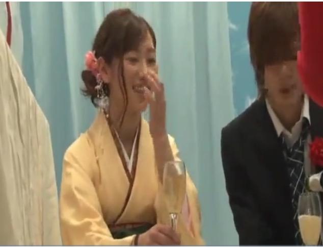 【マジックミラー号】北原杏さんは卒業式で泥酔した女子大生!もっと飲ませてやれ!