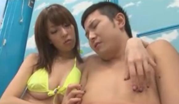 【マジックミラー号】海水浴場で水着美乳ギャルをナンパ!ドーティと交尾させてみた!