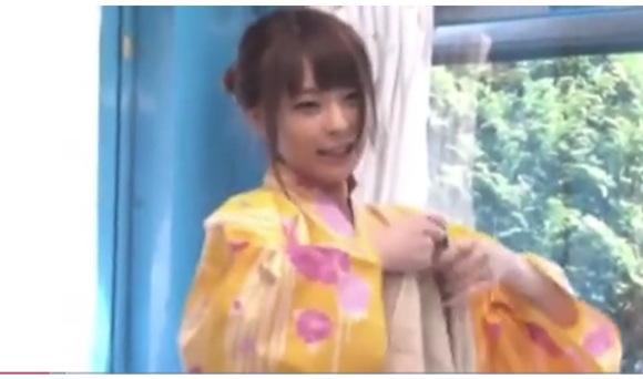 【マジックミラー号】浴衣でナンパされた宮澤みほさんは、ありえないレベルの美少女!マッサージでアクメ!