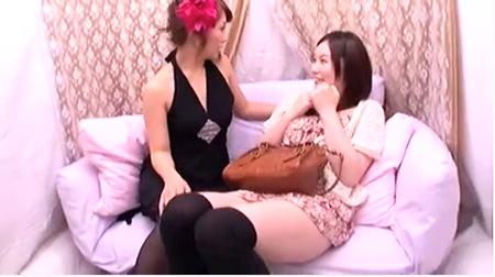 レズビアンの結城みささん!デカパイの可愛い美少女をナンパしてエッチする!