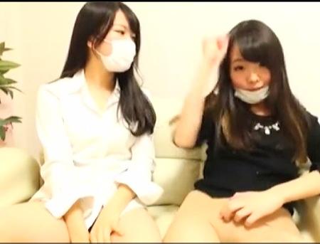 【個人撮影】可愛くて楽しい姉ちゃん二人はレズビアンでライブチャット!