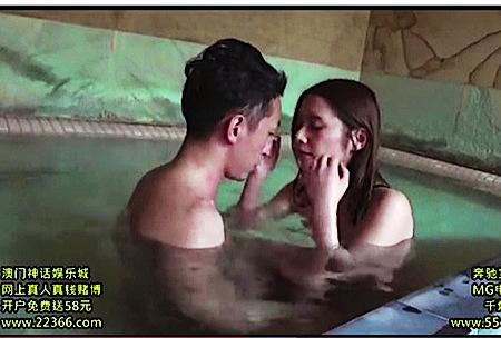 【風呂】これはエロい混浴体験!ドスケベそうな奥さまにチンポコをフェラチオしてもらいました。