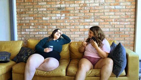 これはやばい豊満すぎるお姉さん二人です。「このままでは糖尿病になる」と運動を始めます『BBW 豊満ワークアウト』他