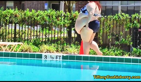 【BBW】『SSBBWがプールを歩き回る-ティファニー・クシンベリー』他【動画】