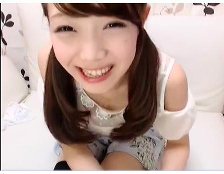 アイドルの姉ちゃんはCカップ!エッチなロリータ生ストリーミング配信!