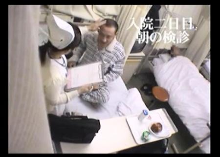 病院で隠し撮り!患者を手コキする看護婦!