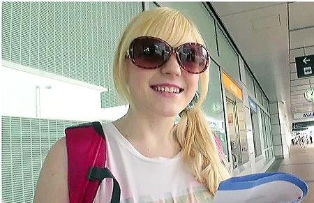 【外国人】アイルランドから留学の美少女すぎる白人!飛行機が墜落しそうな名前のアメリア・イアハートさん!