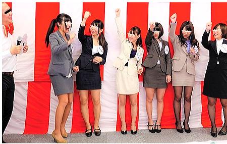 【企画】仕事をかけて女子マネージャーがドスケベなツイスターゲーム大会!