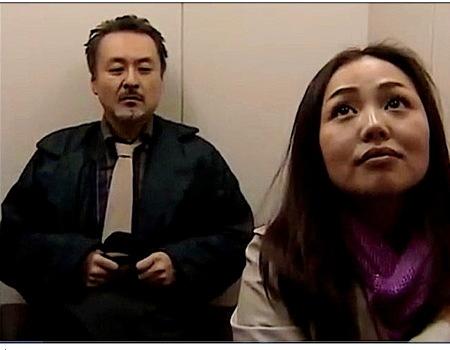 【ヘンリー塚本】エレベーターで女性教師を催眠ガスで寝かせて強姦レイプ!夏海エリカ