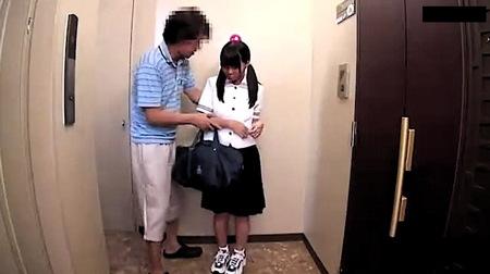 【jk】ツインテールの可愛すぎるミニマム美少女!ヤリ部屋でファック!