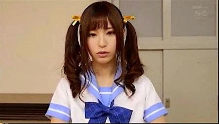 【天使もえ】ツインテールの美少女!部室で男子部員をフェラチオ!