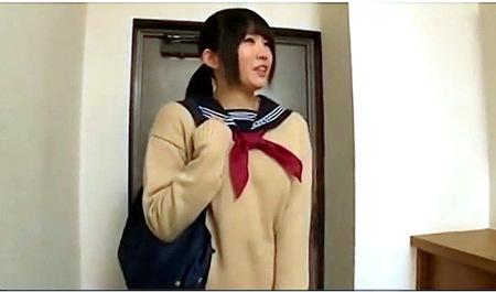 【jk】後輩のデカパイ女子校生!ヤリ部屋でファック!