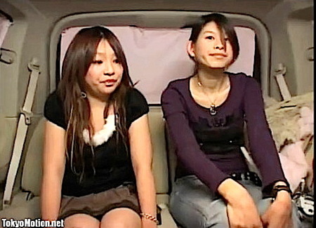 【素人ナンパ】素人娘二人組!初めての電気マッサージ器体験をする!