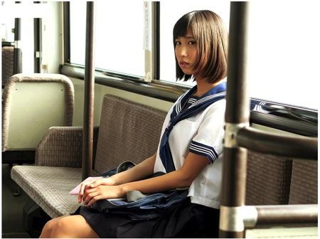 【湊莉久】通学途中!可愛い美少女が痴漢で性に目覚める!