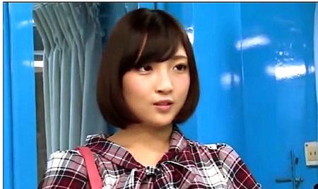 【マジックミラー号】女子アナ見習い!可愛い女子大生が淫語アナウンスをやらされる!