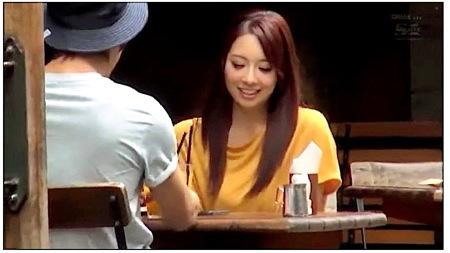 【RION】デカパイお姉さんが騙されて恋人ファックを隠し撮り!(宇都宮しをん)