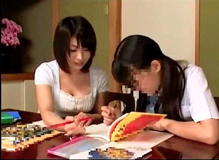 【大堀香奈】知人の仲良し女子大生家庭教師!媚薬でファック!