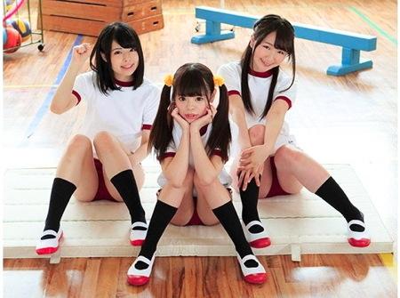 【jk】Aカップびっち3人組!校内でファックしまくり!澄川鮎 矢澤美々 山川ゆな