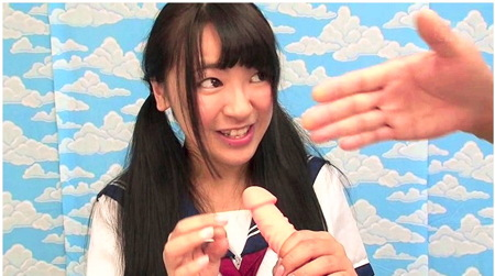 【jk】18cmメガチンポ!可愛い美少女におチンチンを見せて発情させる!