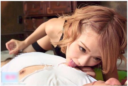 【jk】金髪ショートの女子校生!すごい手コキと乳首攻め!椎名そら
