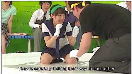 【jk】ぬるぬるローションゲーム!可愛い美少女がファックされる!