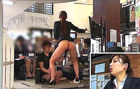 【SOD女子社員】イキまくり会社説明会!オメコを出して失禁アピール!