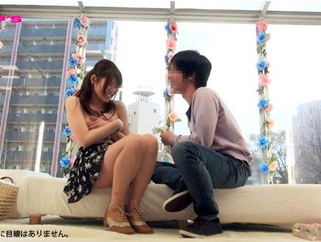 【ナンパ】マジックミラー号!デカパイ女子大生が友人とファック!井上瞳