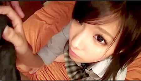 【素人】すごい可愛い!美少女ロリータが着衣のままファック!秋元美由