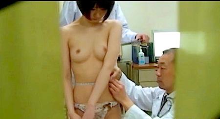 【盗撮】病院!可愛い美少女ロリータをドスケベ院長が健康診断!