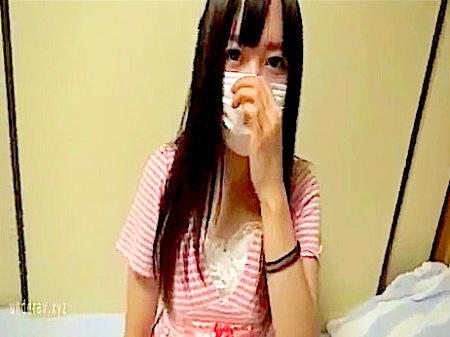 【個人撮影】映像流出!可愛いマスク少女が中出しされる!