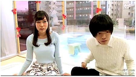 【マジックミラー号】男友達と混浴!女子大生が素股で入れたくなる!