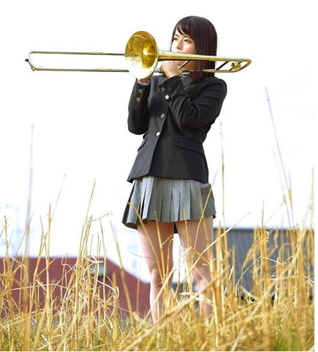 【jk】吹奏楽部の可愛い美少女ロリータ!おチンチンをフェラチオ!