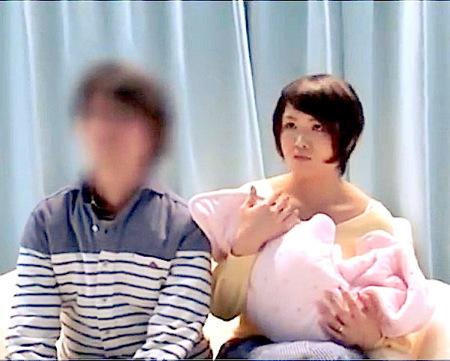 【マジックミラー号】出産直後の素人!感度の上がった夫婦を捕獲!