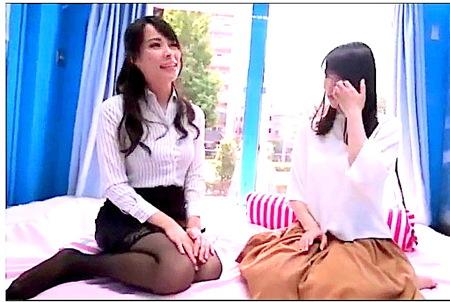 【マジックミラー号】レズビアンが素人の可愛い美少女を逆ナンパ!桜木優希音 | 真木今日子