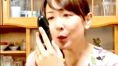 【ヘンリー塚本】黒いバイブ!オナニーばかりする中年女!桐原あずさ